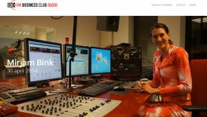 Mirjam Bink bij Ede FM Business Club Radio 30_04_2014