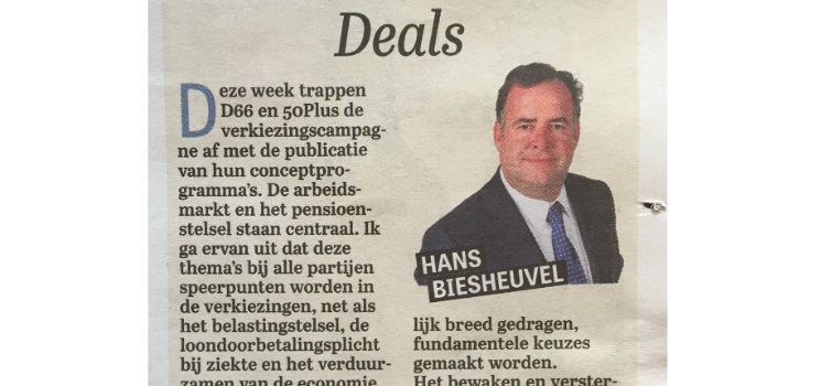 2016 08 28_Telegraaf_Column_Hans Biesheuvel_Deals_Header WebsitePXL