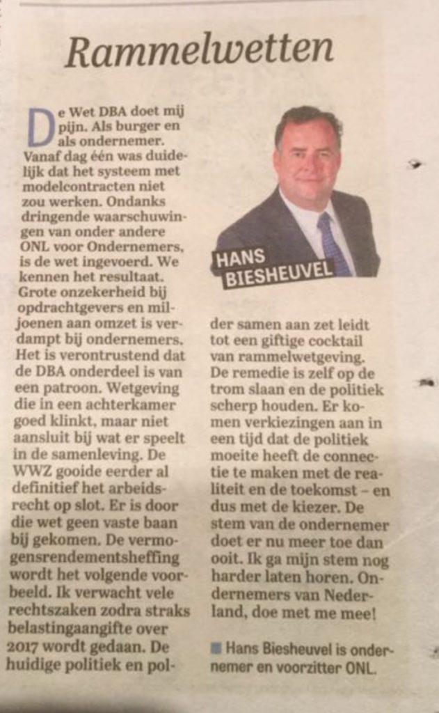 2016-12-01_telegraaf_column_hans-biesheuvel_rammelwetten-print