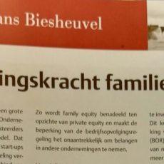 Investeringskracht familiebedrijf - column Hans Biesheuvel - vakblad FamilieZaken
