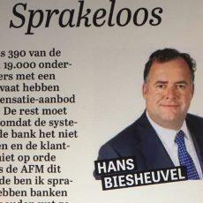 Sprakeloos, column Hans Biesheuvel