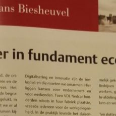 Investeer in fundament economie