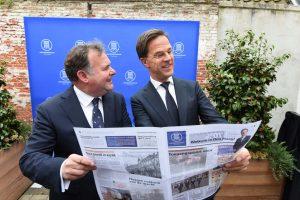 Hans-samen-met-Rutte-krant-Ondernemershuis