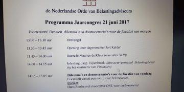 Programma NOB Jaarcongres