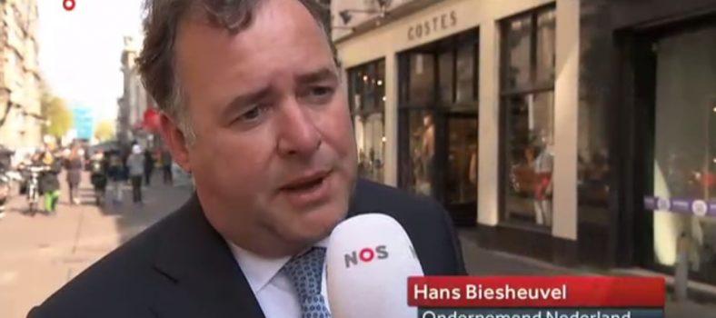 Hans Biesheuvel (ONL) bij NOS over verlenging werkloosheidsuitkering