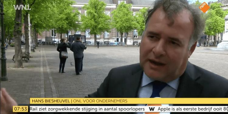 Hans Biesheuvel bij Goedemorgen Nederland over vakbonden