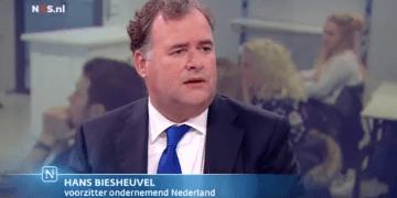 Hans Biesheuvel bij Nieuwsuur over het Sociaal Akkoord 2017