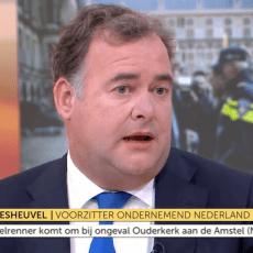 Hans Biesheuvel bij Goedemorgen Nederland